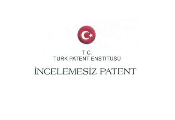 Türk Patent Enstitüsü İncelemesiz Patent Sertifikası Logo