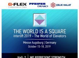 İnterlift 2019 Asansör Fuarına Katılıyoruz.